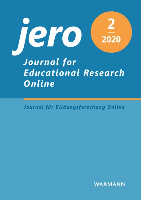 Journal for Educational Research Online (JERO)