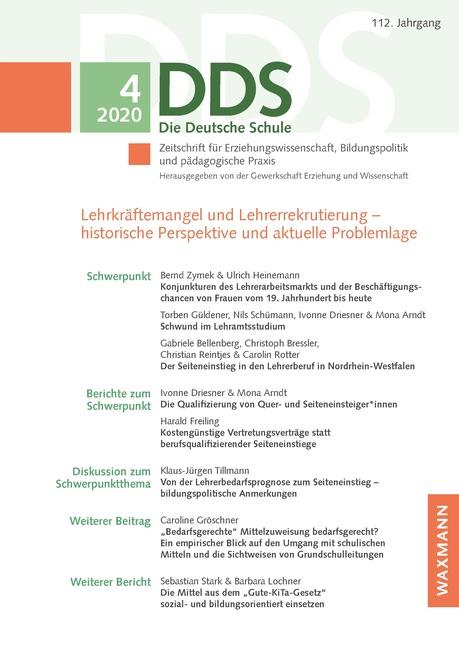 Editorial zum Schwerpunktthema: Lehrkräftemangel und Lehrerrekrutierung – historische Perspektive und aktuelle Problemlage