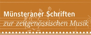 Münsteraner Schriften zur zeitgenössischen Musik
