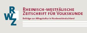 Rheinisch-westfälische Zeitschrift für Volkskunde