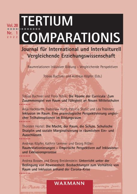 Permanenter Vergleich. Methodologische Überlegungen zu einer an der Grounded-Theory-Methodologie orientierten international vergleichenden Forschung